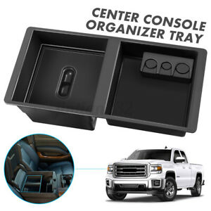 Center Console Organizer Fits 14 19 Gm Suburban For Front Floor Insert Tundra Us