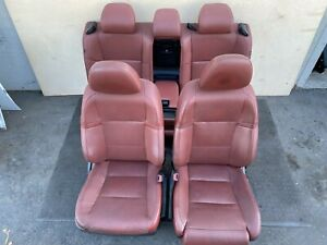 lexus 13 15 Gs350 F sport Red Seats Set Front Back Seat Complete Interior Oem