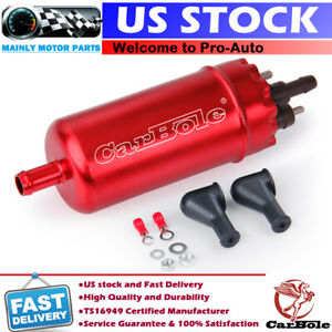 Inline Universal High Pressure Fuel Pump With Installation Kit 0580464070 E8260