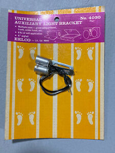 Nos Vintage Eelco Auxillary Light Bracket Gasser Hot Rod Day Two
