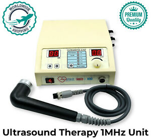Us 1mhz Ultrasonic Ultrasound Physical Pain Relief Therapy Body Massager Machine