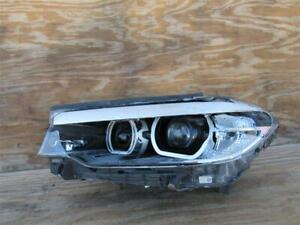 17 18 19 Bmw 5 Series 530i 540i Led Headlight Head Lamp Oem