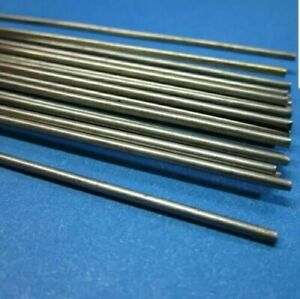 5 Pack Stainless Steel 3 16 Round 24 Long Bar Stock Rod 304 Stainless 2 Ft