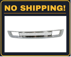 Front Bumper Grille Chrome Fits 2007 2012 Gmc Sierra 1500 Gm1036131