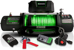 Stegodon New 9500 Lb Load Capacity Electric Winch S2 12v Waterproof Ip67 Electr
