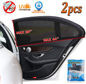 Car Window Shade Universal Sun Shade For Car Window Mesh Car Side Window Shades