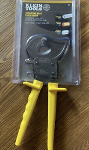 Klein Tools 63607 10 1 4 In Ratcheting Cable Cutter New