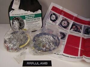 Laclede 2318 Alpine Sport 15 16 16 5 17 18 Truck Suv Snow Tire Chains Diamond