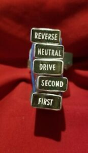 1962 Nors Plymouth Fury Replacement Automatic Transmission Push Buttons