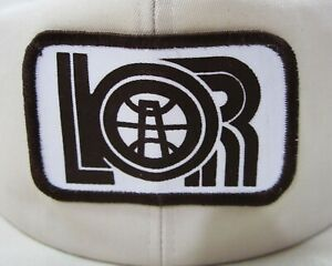 Vintage Lor Oil Gas Corp Well Drilling Rig Snapback Trucker Hat