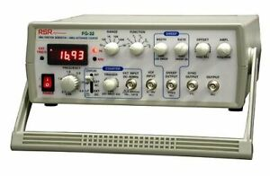 Rsr Sweep Function Generator 5 Hz 3 Mhz With 5 Digit Led Display