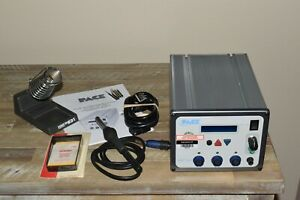 Pace Mbt350 Three Channel Solder Desolder Station W Ps90 Tips Stand New Lcd