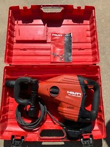 Hilti Te 700 avr Te 700 800 Heavy Duty Demolition Hammer With Carrying Case