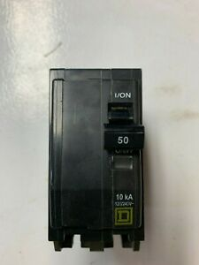 Square D Qob250 50 A Miniature Circuit Breaker