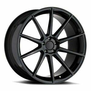 20 Mandrus Klass 20x10 Gloss Black 5x112 For Mercedes 5 Lug Wheel 25mm Rim