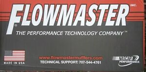 Flowmaster 952548 performance Muffler Super 40 Series 2 5in Inlet 2 5in Outlet