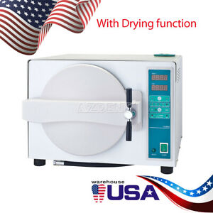 Dental Automatic Autoclave Steam Sterilizer Drying Medical Sterilizition 18l Usa