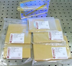 Lot Of 6 Coherent Laser Optics For Hughes Aircraft Co Filters Windows Mirrors