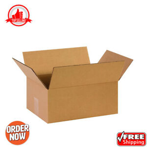25pack Mailing Box Corrugated Cardboard Shipping Packing Boxes 14 X 10 X 6 Kraft