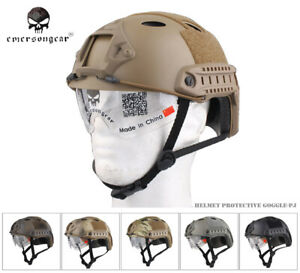 EMERSON FAST Helmet With Protective Goggle MH Type EM8820 $34.73