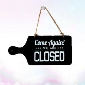 1pc Wooden Sign Delicate Vintage American Style Wood Decorative Hanging Sign