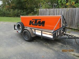 Ktm Dealer Sign Large 3 X 12 Great Condition Double Sided Exterior