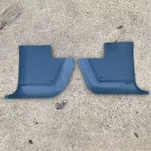1967 73 Dodge Dart Plymouth Duster Blue Kick Panels 2663128 2663129
