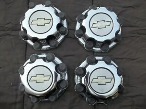 Chevy Hd2500 3500hd Express Center Caps Hubcaps 16 Wheels Oem Factory 8x165 1mm
