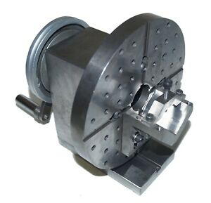 Surface Grinder Spin Fixture With V block Removable Face Plate Precision