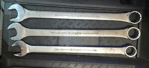 Williams Snap On Industrial Line 1 5 16 1 3 8 1 1 2 Combination Superrench