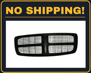 Grille Fits 2002 2005 Dodge Ram1500 Ch1200259
