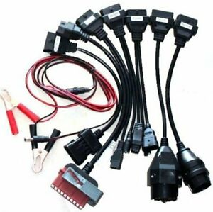 8x Adapter Obd 2 Cables For Autocom Cdp Hd Pro Cars Diagnostic Scanner Interface