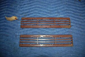 1939 Plymouth N O S Hood Side Panel Grilles Vents