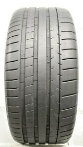 One Used 255 35zr19 2553519 Michelin Pilot Super Sport Bmw 7 7 5 32 0370