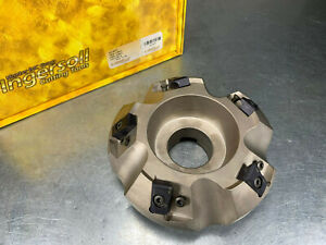 Ingersoll 4 Face Mill Indexable Heavy Duty S max Milling Cutter Sn2r 04r01