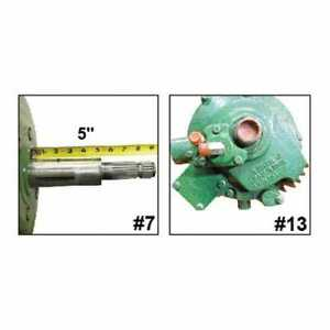 Used Feeder House Reverser Gear Box Assembly Compatible With John Deere