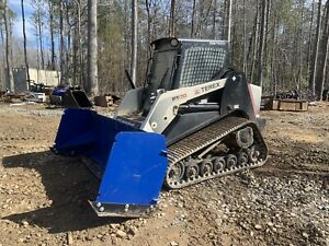 34k 2009 Asv Rc 100 1250 Hours With 2018 Bradco Paladin Mulcher