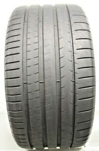 One Used 325 30zr21 3253021 Michelin Pilot Super Sport Bmw 8 32 0309