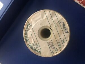 Bridgeport Insulater Wire 40awg 3 spool Size
