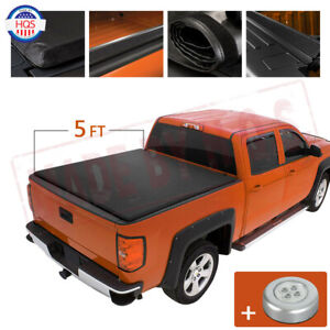 5ft Soft Roll Up Tonneau Cover For 2005 2020 Nissan Frontier 5 Bed Rugged Liner