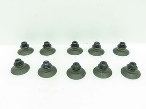 Anver F25 Nitrile Vacuum Suction Cup G 1 8 male M5 Female Fittings Lot Of 10