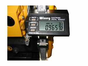 Wixey Wr510 Electronic Digital Readout Portable Planers Accuracy Easy Calibrate