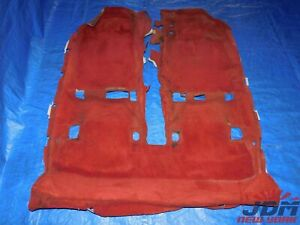 02 06 Jdm Honda Acura Integra Rsx Dc5 Type R Oem Rhd Red Floor Carpet 2