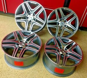 Mercedes 17 Inch Rims Cls63 Wheels Set4 New Exclusive For Cla Cla250 Amg