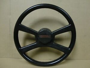 73 87 Square Body Chevy Pickup Truck Blazer Factory Steering Wheel Must See