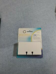 Rolodex Rotary Refill Cards White 2 1 4 X 4 100 pack 67558