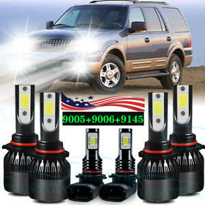 For Ford Expedition Explorer 2003 2004 2005 2006 Led Faro Luces Antiniebla