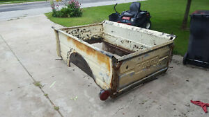 1935 Dodge Truck Bed Box With Tailgate
