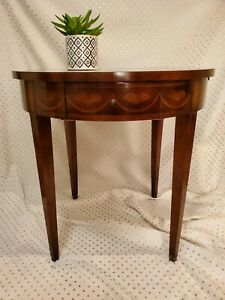 Baker Chippendale Antique Round Side Table