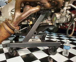 New Engine Stand Cart Cradle Late Model 5 0 Coyote Engine